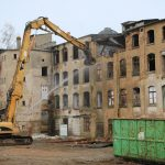 Abbrucharbeiten Lisema-Gebäude