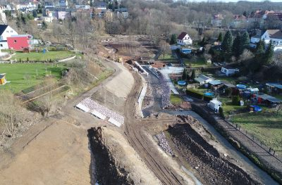 Luftbild Mühlbachtal
