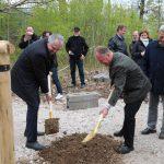 Staatsminister Thomas Schmidt, der Präsident vom LVGS e.V. ...